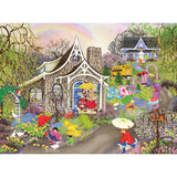 Rainbow Showers 300 Large Piece Jigsaw Puzzle