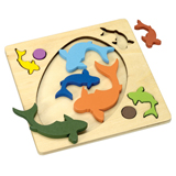 FISH POND TRAY PUZZLE