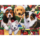 Puppy Surprise 300 Large Piece Jigsaw Puzzle