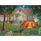 Backyard Camping 300 Large Piece Jigsaw Puzzle