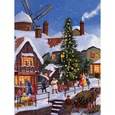 Carols By The Christmas Tree 300 Large Piece Jigsaw Puzzle