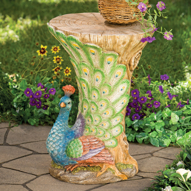 Peacock Accent Table