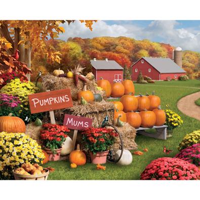 Autumn Memories 300 Large Piece Jigsaw Puzzle