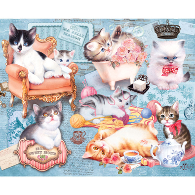 Home Kittens 100 Large Piece Jigsaw Puzzle