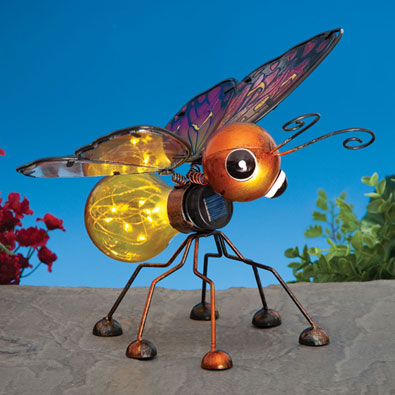 Solar Butterfly Bulb Light