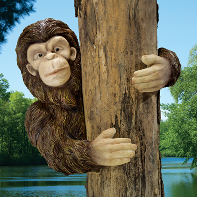 Bigfoot Tree Hugger