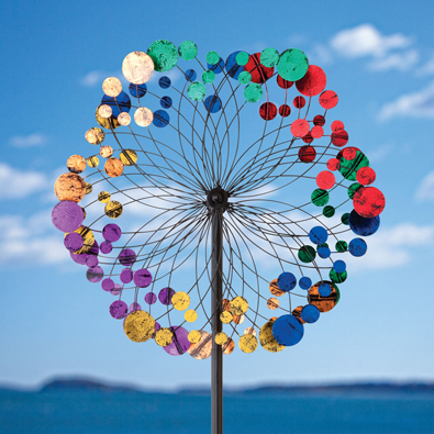 Colorful Kaleidoscope Wind Spinner