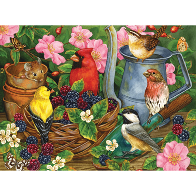 Autumn Berries 500 Piece Jigsaw Puzzle