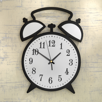 Alarm Wall Clock