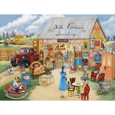 Bill's Roadside Furnishings 500 Piece Jigsaw Puzzle