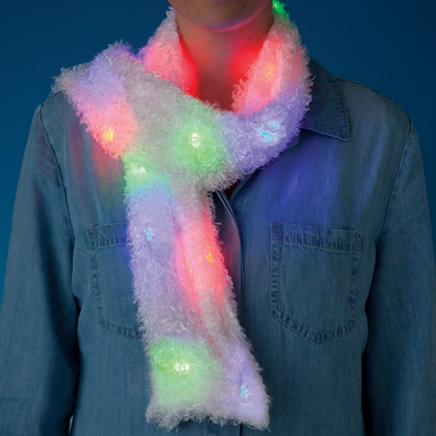 LED Flashing Scarf