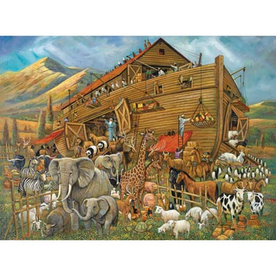 After The Flood 300 Large Piece Wood Jigsaw Puzzle