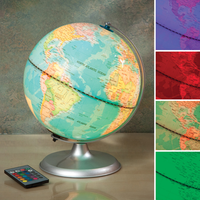 Remote Control Colour Changing Globe