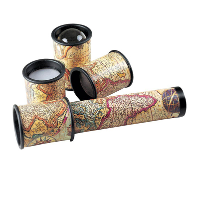 Changeable Kaleidoscope With Four Unique Cylinders