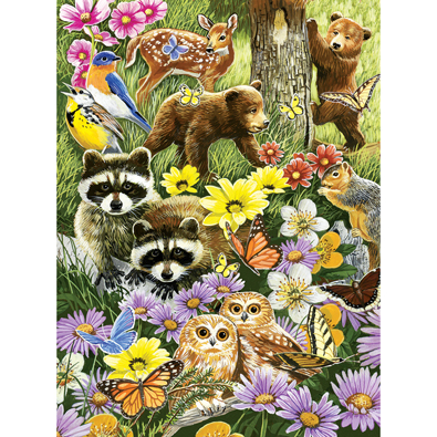 Bear Cub Playdate 500 Piece Jigsaw Puzzle