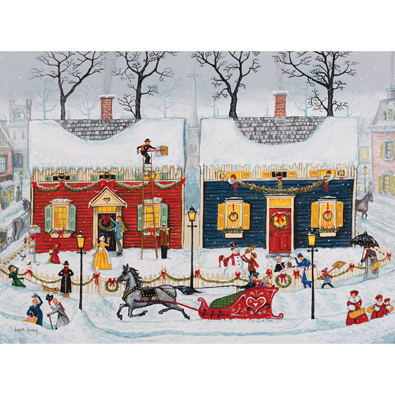Christmas is Just Around the Corner 1000 Piece Jigsaw Puzzle