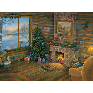 By The Fire 1000 Piece Jigsaw Puzzle