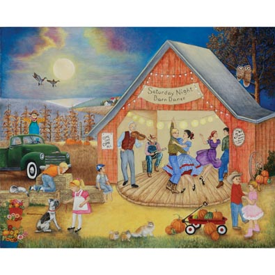 Barn Dance 300 Large Piece Jigsaw Puzzle