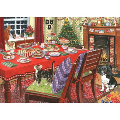 Christmas Tea 1000 Piece Jigsaw Puzzle