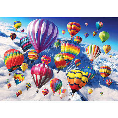 Above The Skies 300 Large Piece Jigsaw Puzzle
