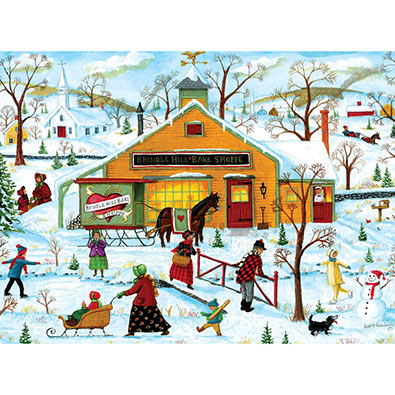 Brindle Hill Bake Shoppe 300 Large Piece Jigsaw Puzzle