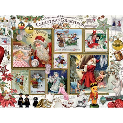 Christmas Greeting 300 Large Piece Jigsaw Puzzle