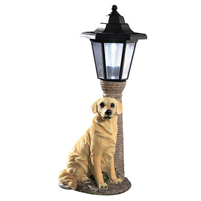 Solar Dog Lanterns Solar Outdoor Lights Holiday Gifts