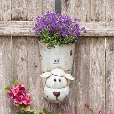 Sheep Bobbing Head Deck Planter