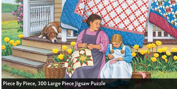 Piece By Piece 300 Large Piece Jigsaw Puzzle