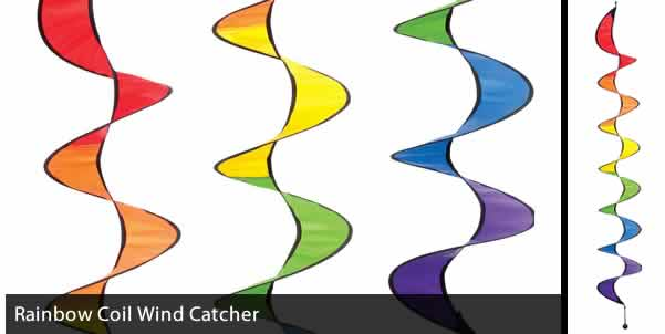 RAINBOW COIL WIND CATCHER