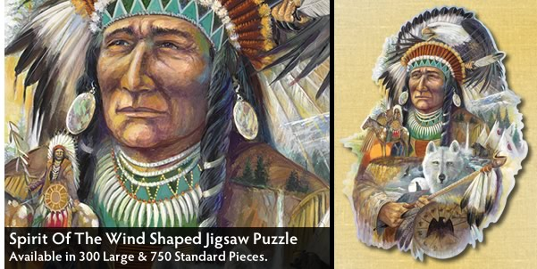 Spirit Of The Wind 300 Large Piece Jigsaw Puzzle