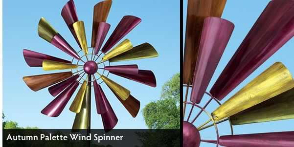 Autumn Palette Wind Spinner