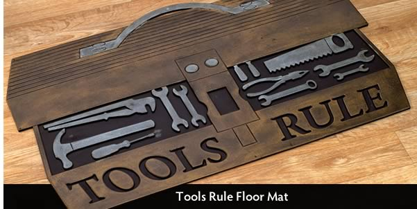 Tools Rule Floor Mat